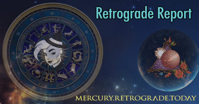 Mercury retrograde ends today!